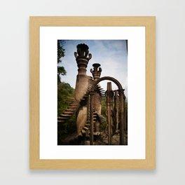 Sir Edward James Castle Framed Art Print