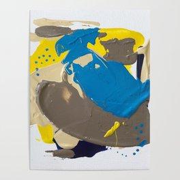 Miniature Original - neutral tones Poster