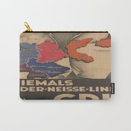 Vintage poster - Oder-Neisse Line Carry-All Pouch