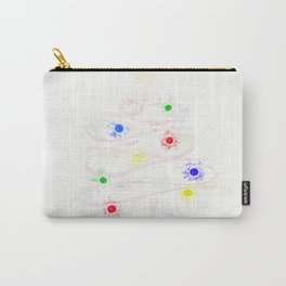 Illuminating tree of lights Carry-All Pouch