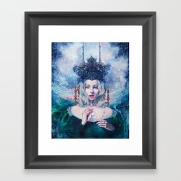 Self-Crowned Framed Art Print