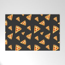 Cool and fun pizza slices pattern Welcome Mat