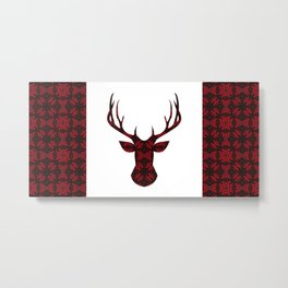 Cranberry Cariboo Canada Metal Print