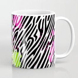 Wild Zebra Print Coffee Mug