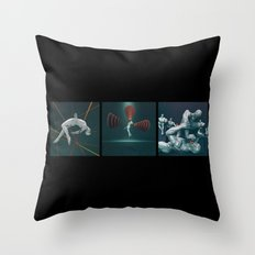 Humans In The Information Age Throw Pillow