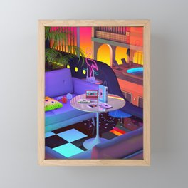 Mixtapes Memories Framed Mini Art Print