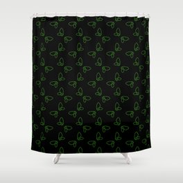Chibi Faerie Wings Shower Curtain