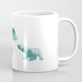 Bears Forest Coffee Mug