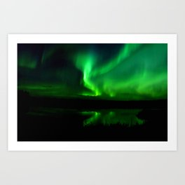Northern Lights (Aurora Borealis) 16. Art Print