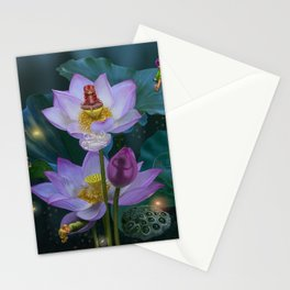 Lotus of India Stationery Cards