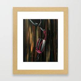 Fine Wine Framed Art Print