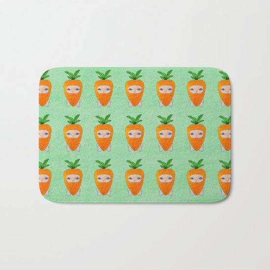 A Boy - Carrot Bath Mat
