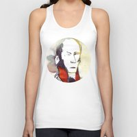 lawyer Tank Tops featuring the lawyer man by seb mcnulty