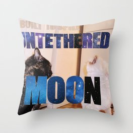 Built to Spill - Untethered Moon Throw Pillow