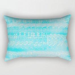Schubert Sheet Music - Impromptu (v2) Rectangular Pillow