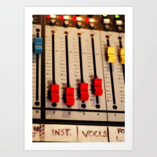 Sound Board I Art Print