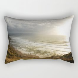 Nature photography. Barrika Beach, Basque Country. Spain. Rectangular Pillow