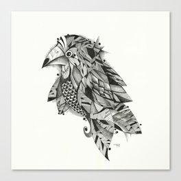 bird lines Canvas Print