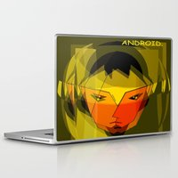 android Laptop & iPad Skins featuring ANDROID. by capricorn