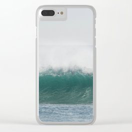 Glassy perfection Clear iPhone Case