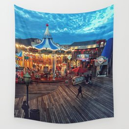 Carousel Wall Tapestry