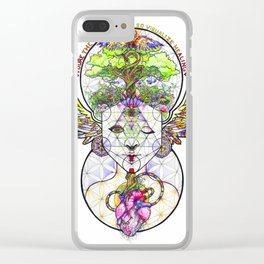 Visualize Healing Clear iPhone Case