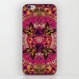 Victoria Mandala Collage iPhone Skin