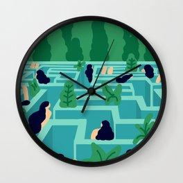 No Exit Wall Clock