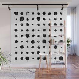 81 Attempts (black) Wall Mural