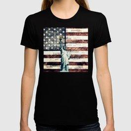 Vintage Patriotic American Liberty T-shirt