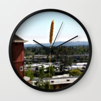 country Wall Clocks featuring Country by Dee Reimer