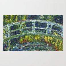 Monet Interpretation Rug