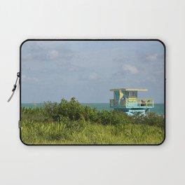 Lifegard Station At South Beach Miami Laptop Sleeve