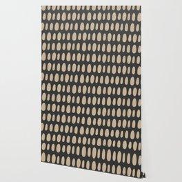 Brush Strokes Gold Wallpaper
