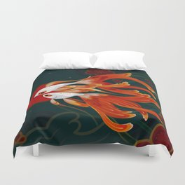 Two comets Duvet Cover