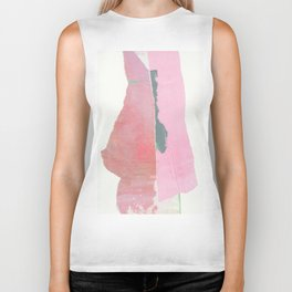 The slim lady. Biker Tank