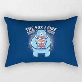 The Fox I Give Rectangular Pillow