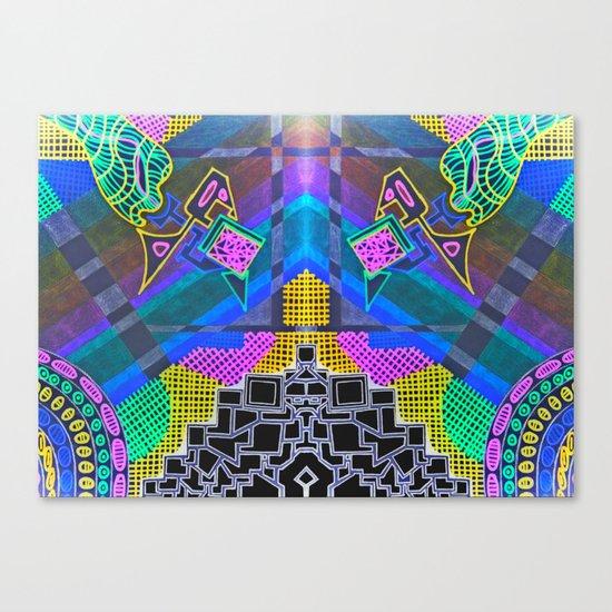 Abstract 2B Canvas Print