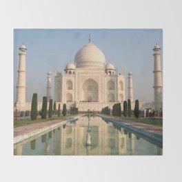 Taj Mahal Throw Blanket