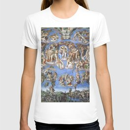 "Michelangelo ""Last Judgment"" T-shirt"