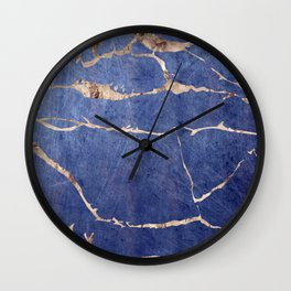 Scratched Suede Mouse Wall Clock