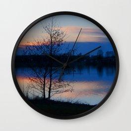 Water reflection Wall Clock