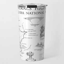 Generals Highway - Generals Highway, Three Rivers, Tulare County, CA Travel Mug