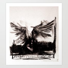 Angels Never Know Art Print