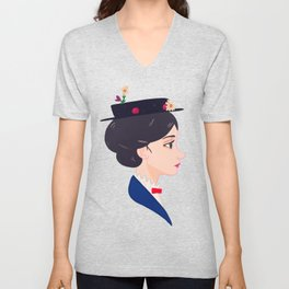 A Spoonful of Sugar Unisex V-Neck