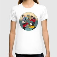 band T-shirts featuring Star Trek Jam Band by Jessica Fink