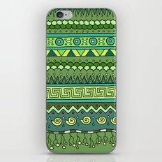 Yzor pattern 009 green-blue summer iPhone & iPod Skin