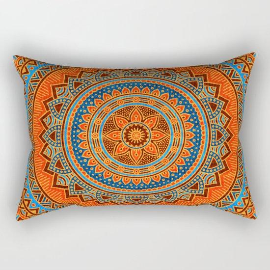 Hippie mandala 77 Rectangular Pillow