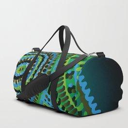 turquoise circus Duffle Bag