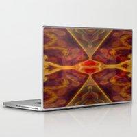 tarot Laptop & iPad Skins featuring Tarot card XI - Lust by Lucia